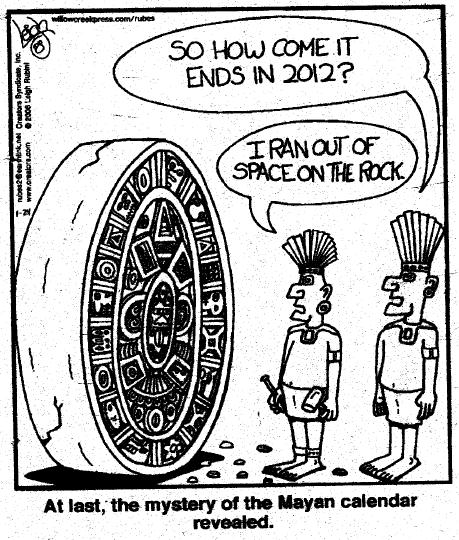 Does the mayan calendar correlate with mental changes in humans?